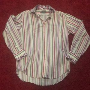 Men's Dress shirt. Bright colors. Great quality.